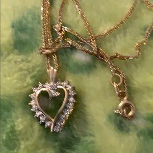 Diamond 10k heart